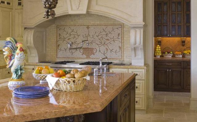 Дизайн кухни в английском стиле - декоративные элементы
