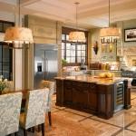 Выбираем мебель для кухни в английском стиле
