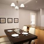 Отделка кухни в частном доме фото