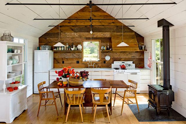 Кухня в деревенском стиле — русская разновидность кантри