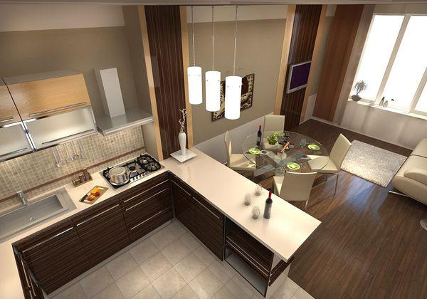 Маленькая кухня 9 кв м дизайн фото