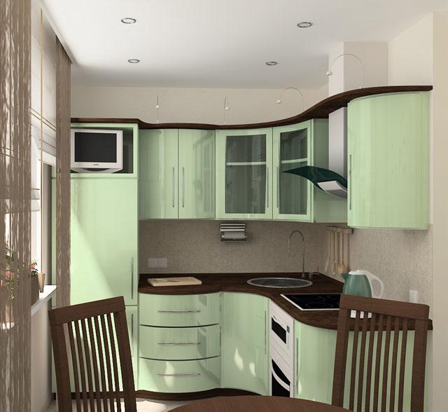 Кухни интерьер для хрущевки