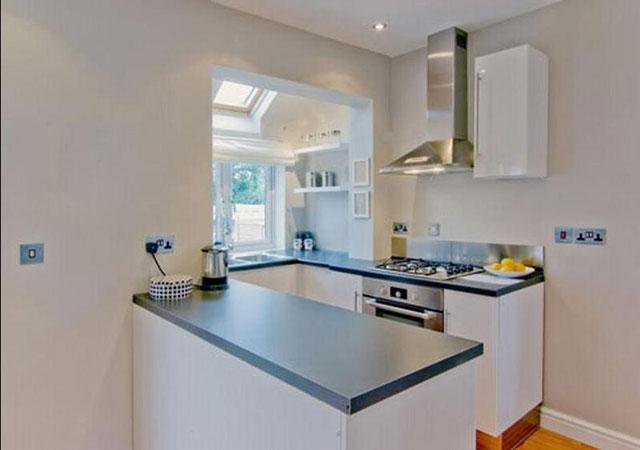 Дизайн кухни хрущевки совмещенной с гостиной