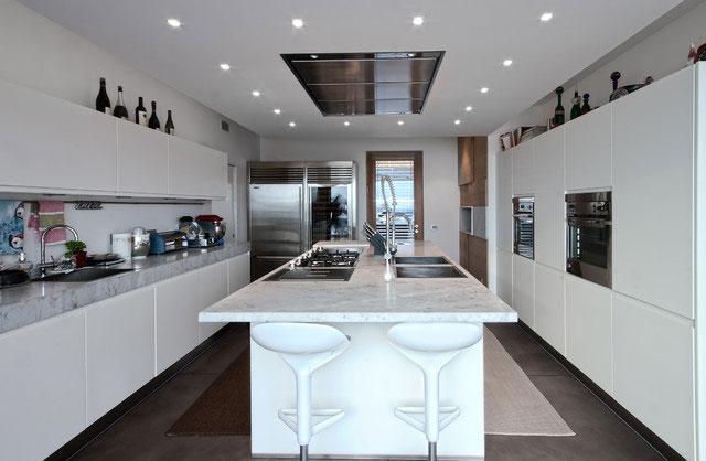 Дизайн итальянской кухни в стиле модерн