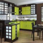 Выбор цвета для кухни в японском стеле
