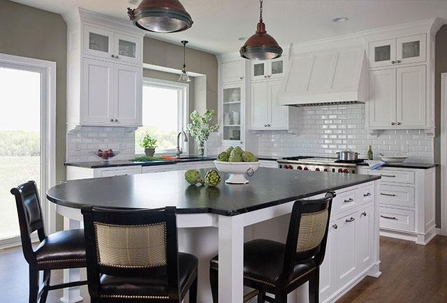 Белая мебель для кухни фото