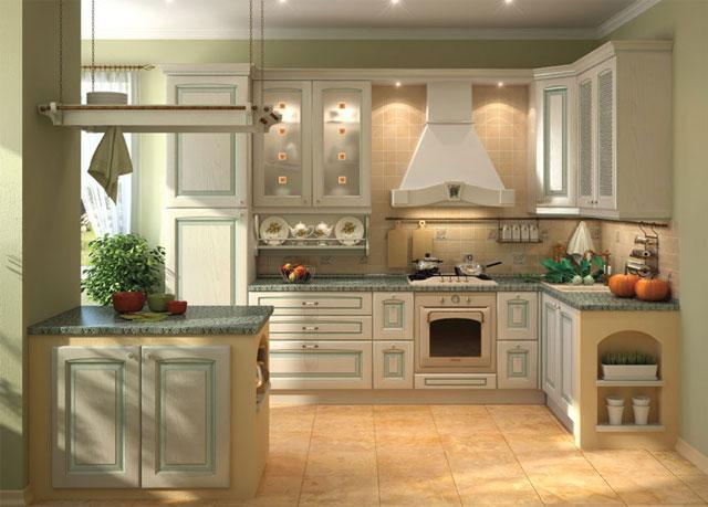Кухня дизайн италия
