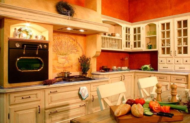 Дизайн кухни в стиле прованс — просто, но утонченно