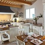 Кухня столовая в стиле прованс