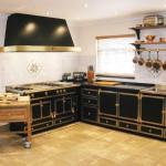 Фото интерьера кухни в стиле ретро