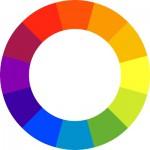 Сочетание цветов в интерьере кухни с помощью цветового круга