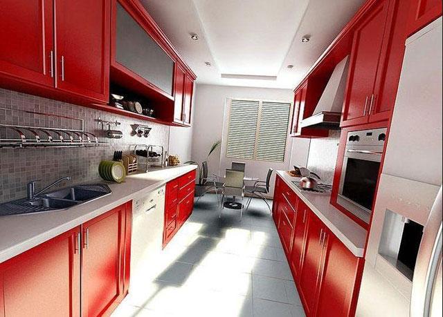 Дизайн узкой кухни: как обставить длинную узкую кухню - фото