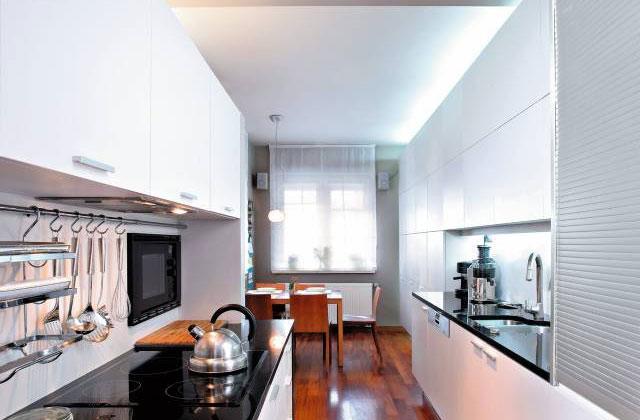 Идеи для узкой кухни