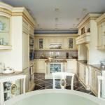 кухни в стиле барокко фото