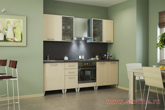 Поэтому такие кухонные гарнитуры для маленькой кухни имеют привлекательный...  По последнему слову техники оборудуют...
