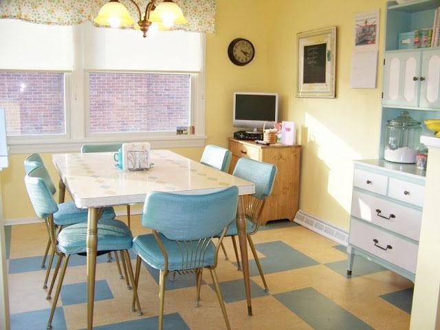кухня в стиле кафе и закусочной