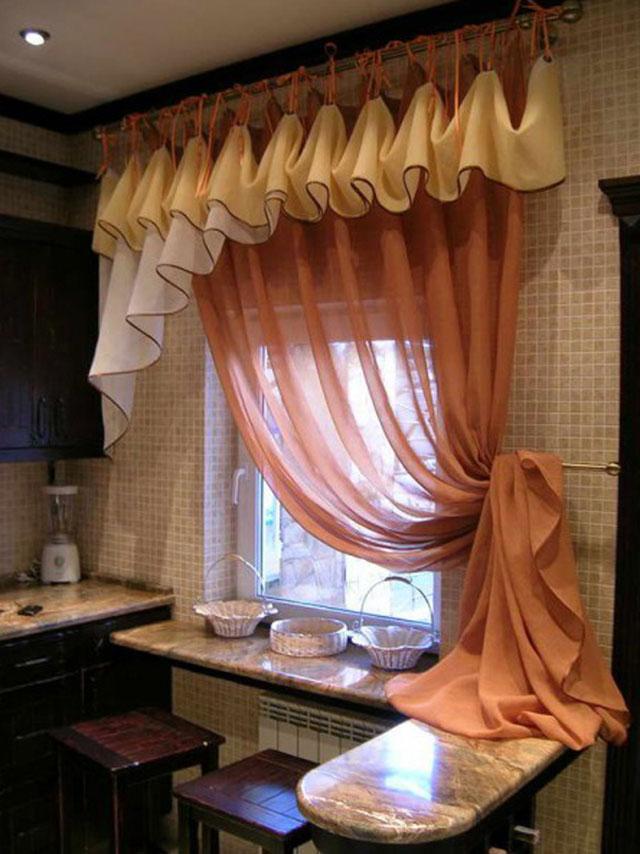 ламбрекены фото для кухни красивые