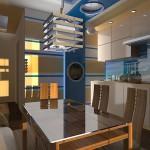 фото кухня в морском стиле
