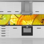 Настенные стеклянные панели для кухни