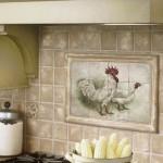 плитка для кухни на фартук в стиле прованс