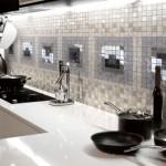 плитка на фартук для кухни в стиле модерн