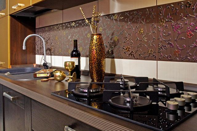керамическая плитка для кухни фартук