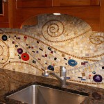мозаичная плитка для кухни на фартук