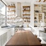 деревянные полочки для кухни