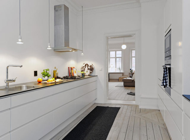 аксессуары на кухне в скандинавском стиле