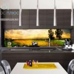 фотопечать на стекле для кухни фото