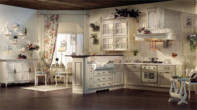 аксессуары на кухне в средиземноморском стиле