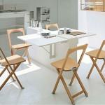 столы для маленькой кухни фото