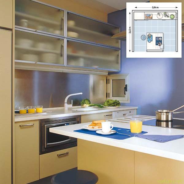 дизайн кухни 6 кв м своими руками