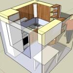 Схема дизайна маленькой кухни своими руками