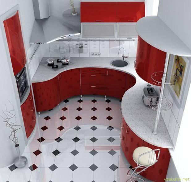 Дизайн интерьера кухни своими руками