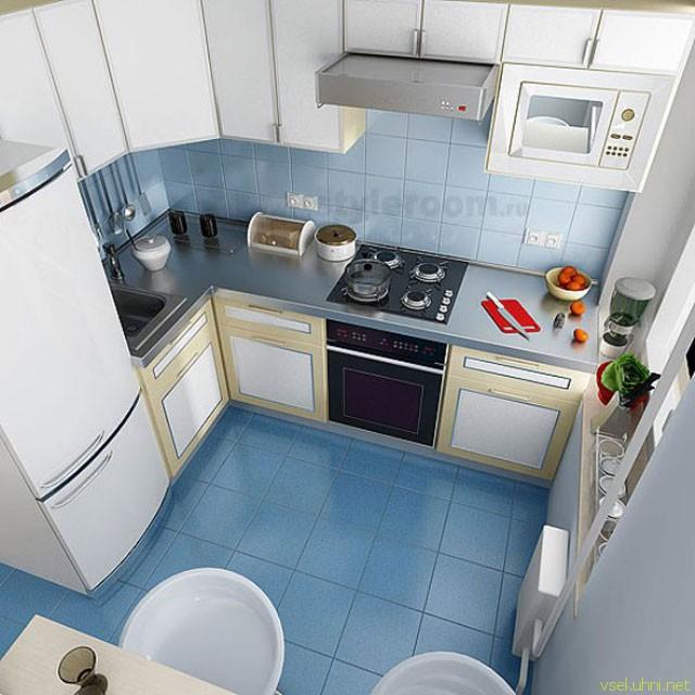 Дизайн кухни хрущевки маленькой