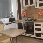 дизайн маленькой кухни в хрущевке - мебель