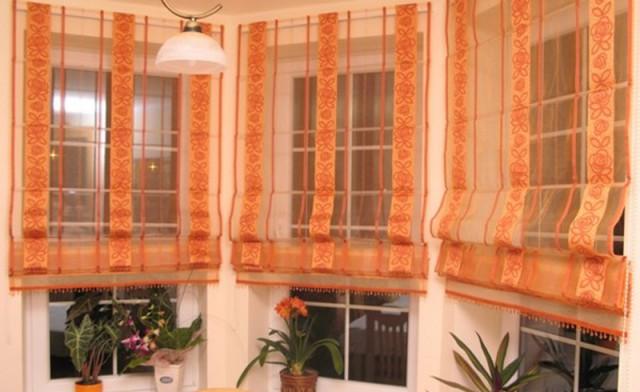 гардины и шторы для кухни