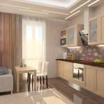 гардины для кухни с балконом