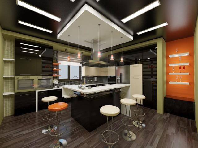 люстры для кухни потолочные