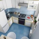 кухни маленькие угловые