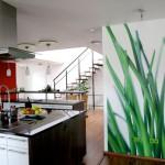 красивые обои для стен на кухне