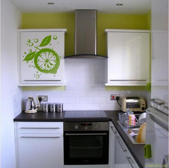 кухня для маленькой кухни фото