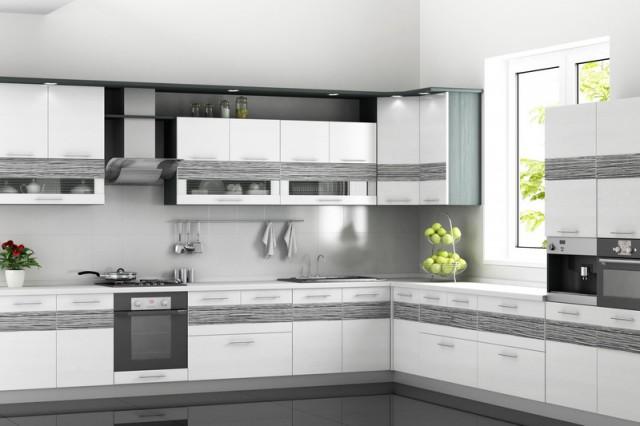 оформление окна на кухне без шторы