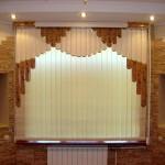 Оформление окна мультифактурными жалюзи