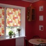 выбрать римские шторы на кухню