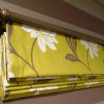 классические римские шторы на кухню