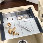 керамическая угловая мойка для кухни