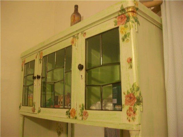 Декор кухонного шкафа своими руками 411