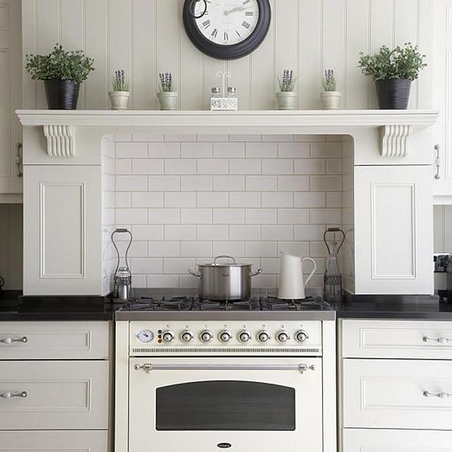 Kitchen Shelf Above Cooker: фото, воплощение чистоты, изящества и света